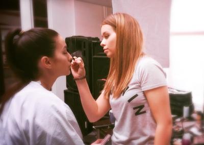 studio bee...#makeup #mua #bts #fashion