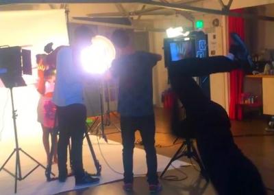 studio bee, northern auarter, manchester. info@studiobeemcr.com #studiobee #videoshoot #bts #filming #film