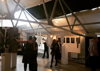 what a transformation! all wkend studio bee is transformed into art gallery! if ur about pop over and see what its all about. free entry....#studiobee #studiobeemcr #artgallery #kraakgallery#kraak #art #music #fashion #studiohire